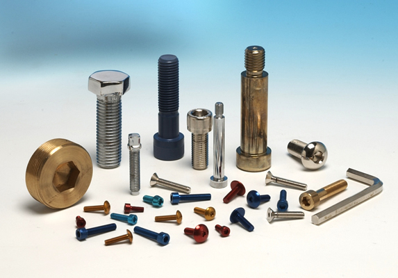 Non standard screws finishes